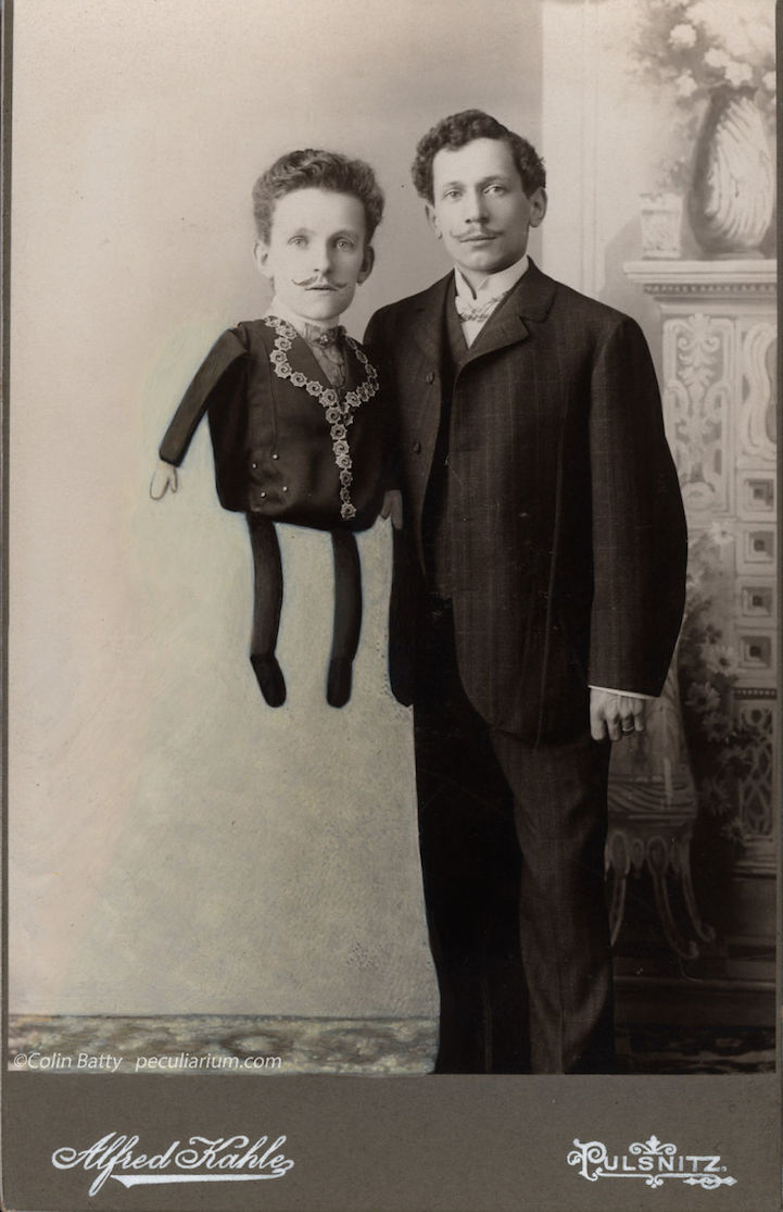 Artist Amusingly Adds Strange Details to Old Photos
