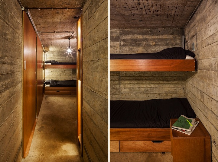 Old Dutch Bunker Transformed into Modern Bed and Breakfast