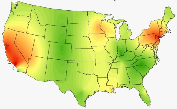 Heat Maps Show the Surprising Musical Preferences of the