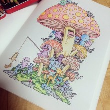 Kerby Rosanes Coloring Books