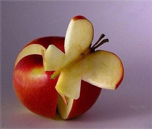 creative apple art and