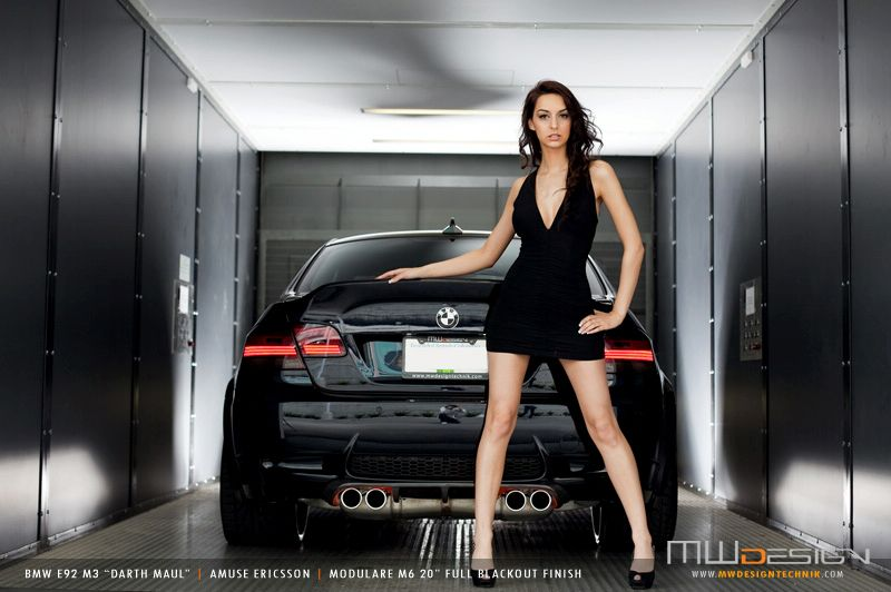 Bmw E30 Girl Wallpaper Darth Maul A Tricked Out Bmw M3