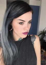 gray ombre hair trend turns locks