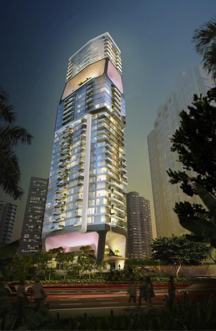 Singapore S Vertical City Building