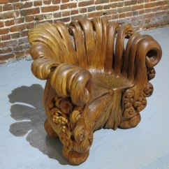 Tree Stump Chairs Black Chair Covers Wedding Elegant Wooden Hand Carved From A Single
