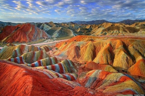 vibrant landscape showcase