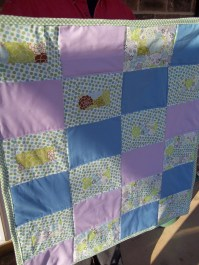 Baby Quilt for MJ and Bill's Granddaughter Chloe