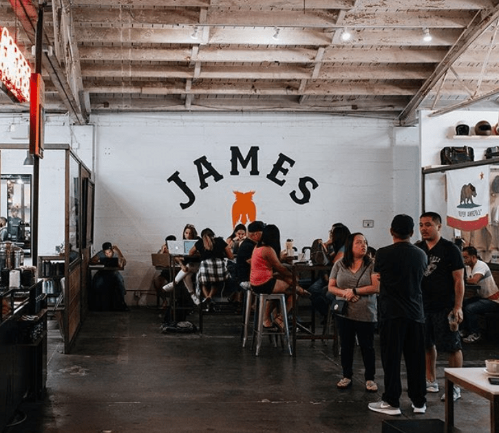 James Coffee Co, San Diego
