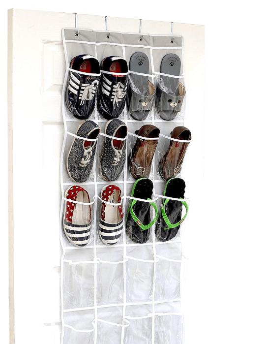 over-the-door shoe hanger rack