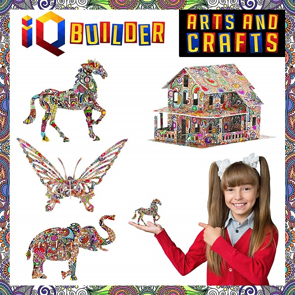 Arts & Crafts IQ Builder, Best Innovative Toys For Kids