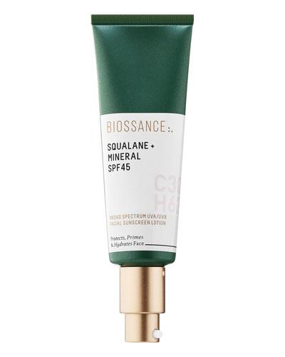Biossance Squalane + Mineral, Non-Toxic Sunscreens