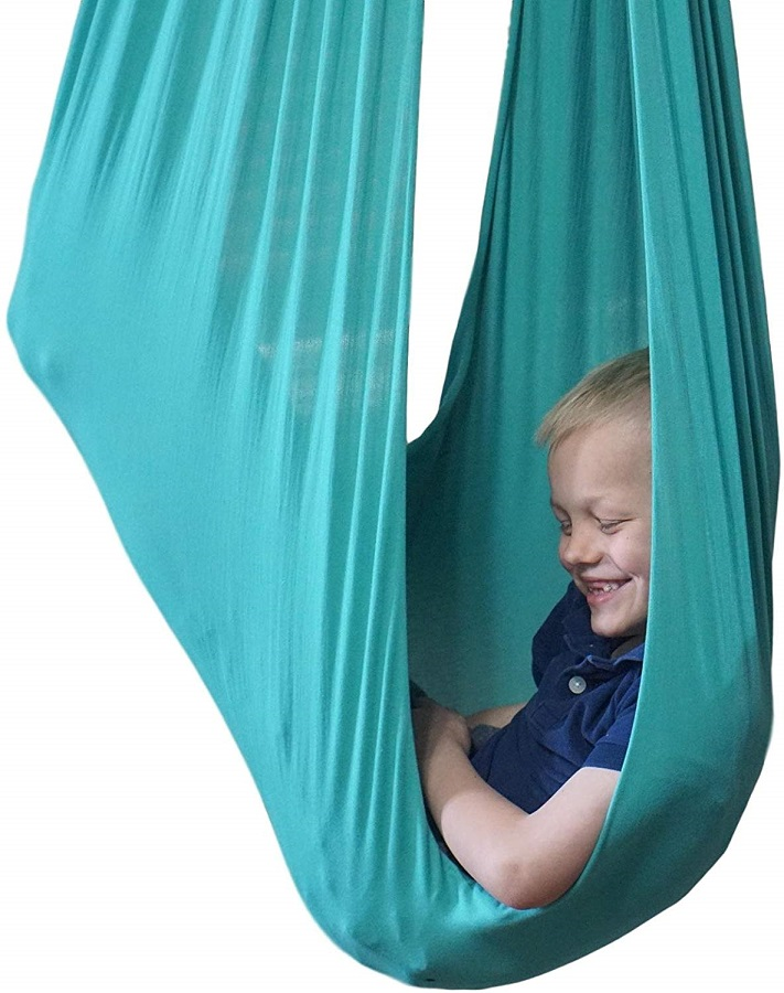 indoor therapy swing one of the best gifts for kids with Autism
