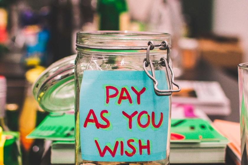 penny jar for saving money