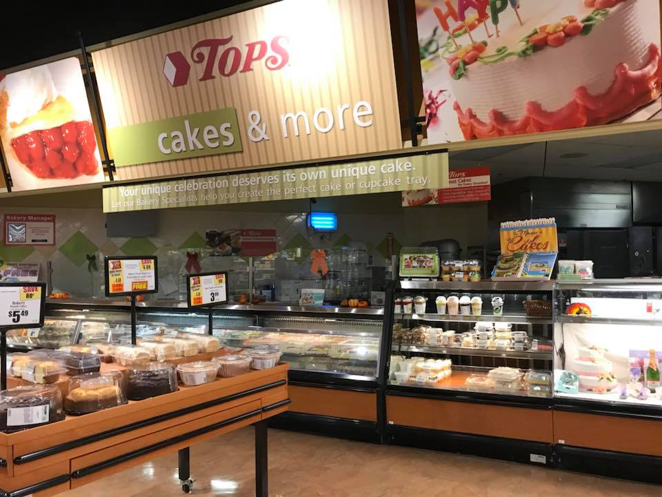 Cake And Bakery At Tops Markets