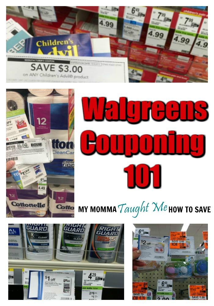 Walgreens Couponing 101