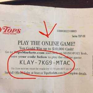 Online Codes For Monopoly Game