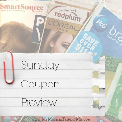 Sunday Coupon Preview 2-4-18