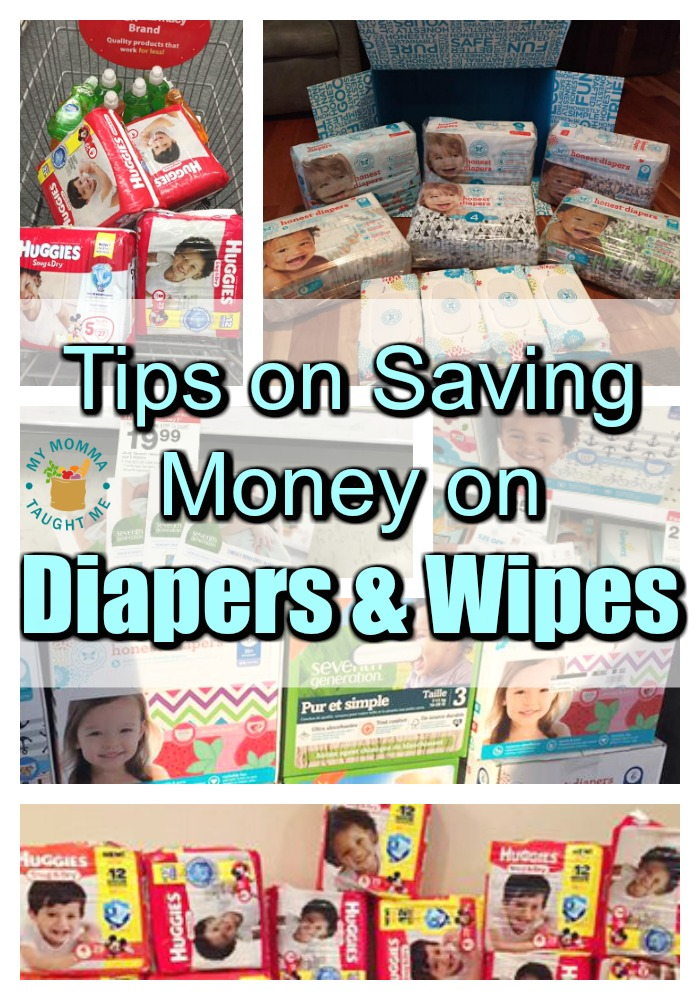 Tips On Saving Money On Diapers & Wipes