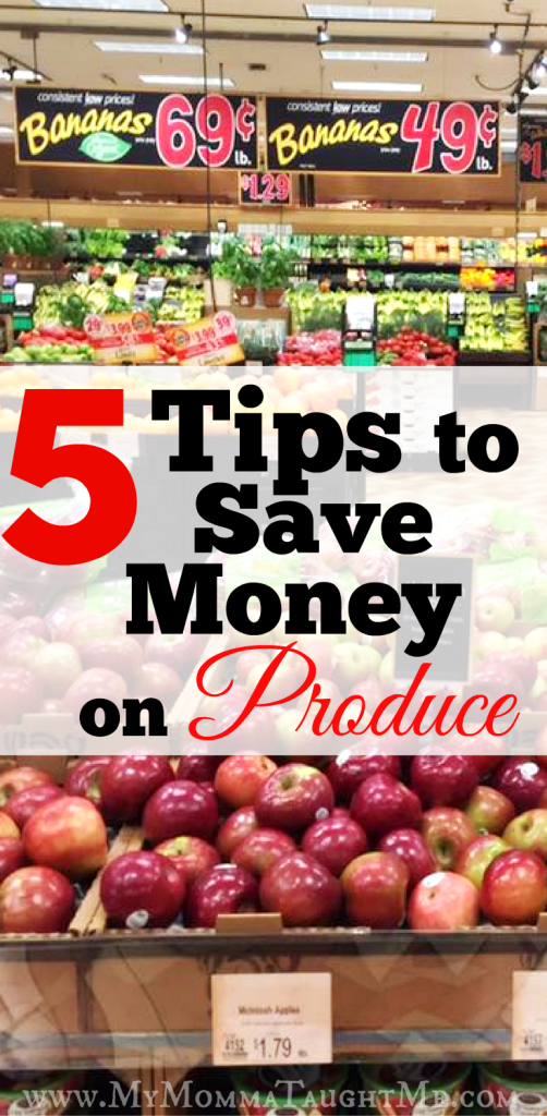 Tips To Save Money On Produce