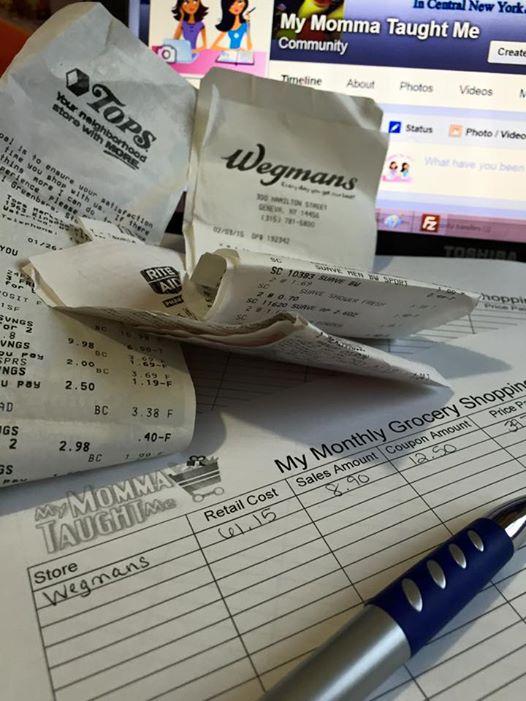 My Grocery Savings Tracker