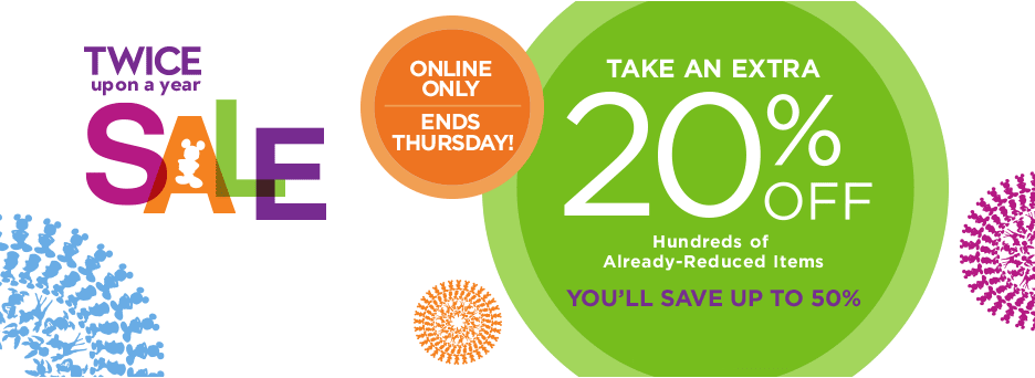 Online Exclusive - Extra 20% off Twice Upon a Year Sale at ...