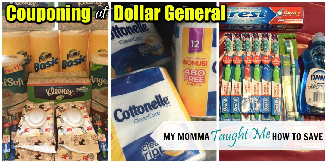 Couponing At Dollar General With My Momma Taught Me