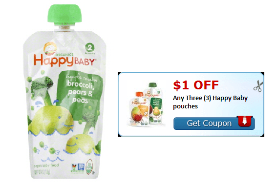 Happy baby organic food coupons