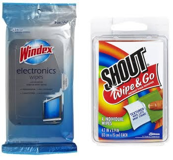 Score FREE Shout Wipe & Go Wipes at Target!