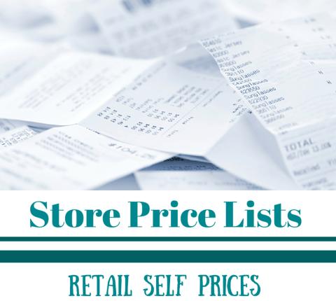 Store Price Lists