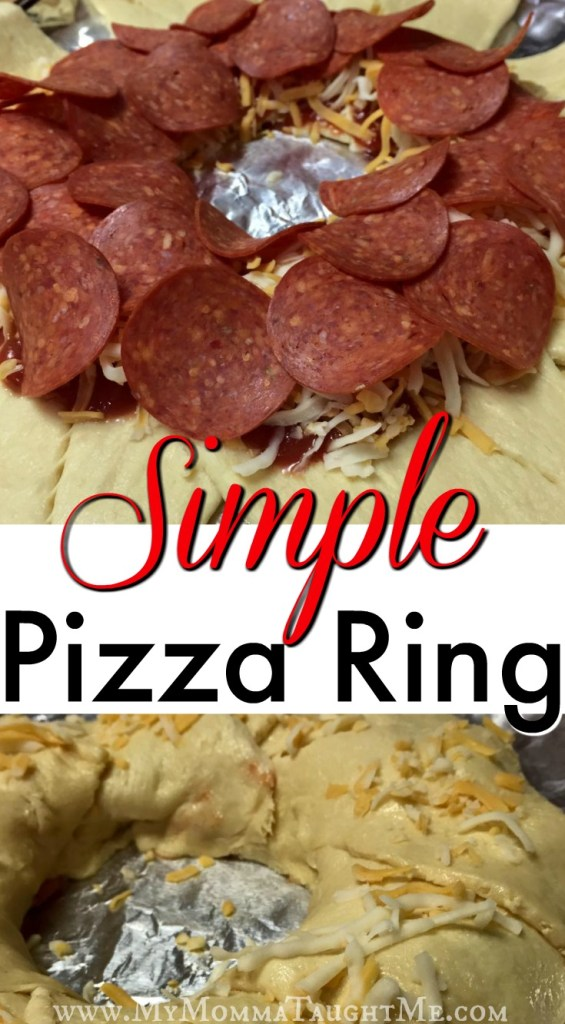 Simple Pizza Ring