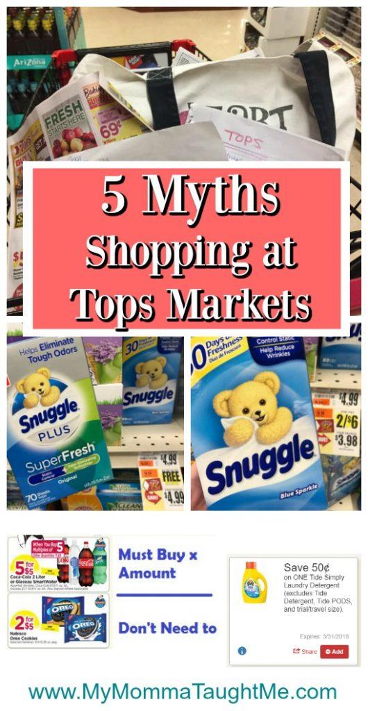 5 Myths Shopping At Tops Markets