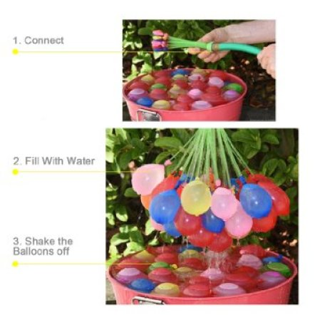 water balloon filler