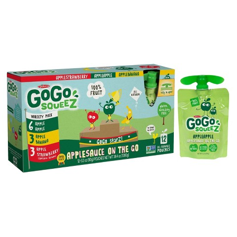 Possibly Pay $0.25 for a Box of GoGo squeeZ Applesauce