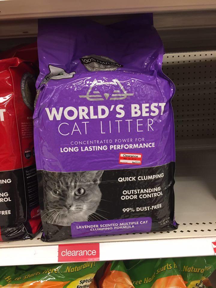 World's best cat litter coupon october 2018