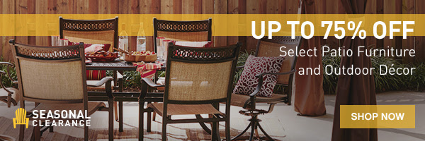 75 off patio furniture at lowes