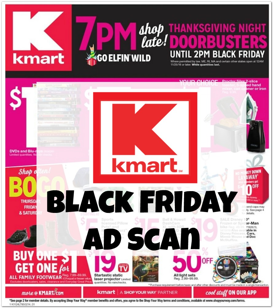 Kmart Black Friday Ad Scan 2016