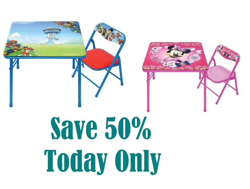 Target Minnie Mouse OR Paw Patrol Table u0026 Chair Set Only $7.49 (reg $24.99) Today Only! - My Momma Taught Me  sc 1 st  My Momma Taught Me & Target: Minnie Mouse OR Paw Patrol Table u0026 Chair Set Only $7.49 (reg ...