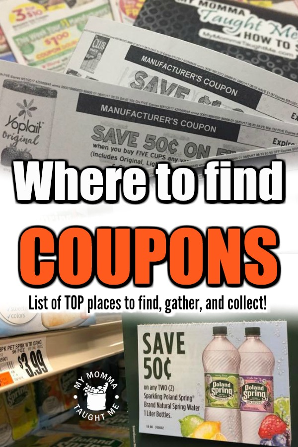 Where To Find Coupons! List Of Top Places To Find, Gather, And Collect!