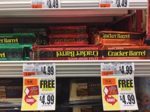 Cracker Barrel Cheese BOGO At Tops Markets