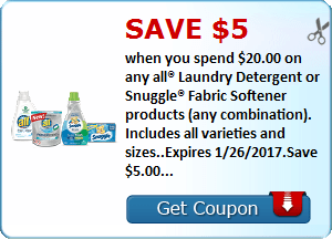 All Laundry Savingstar Offer