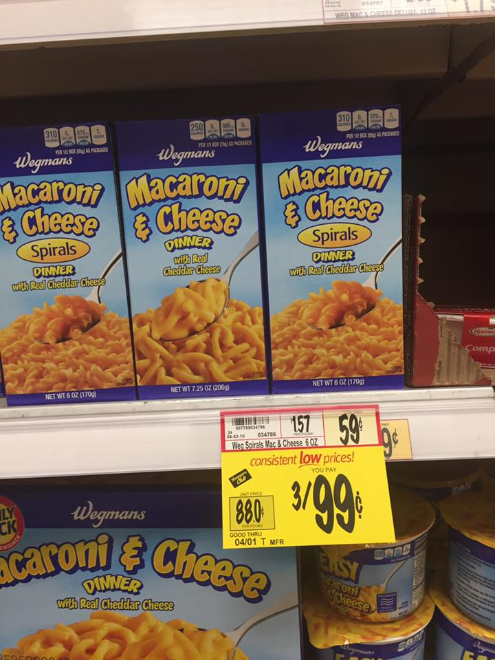 Wegmans Mac And Cheese Sale