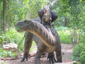 Dinosaur At Dorney Park 6