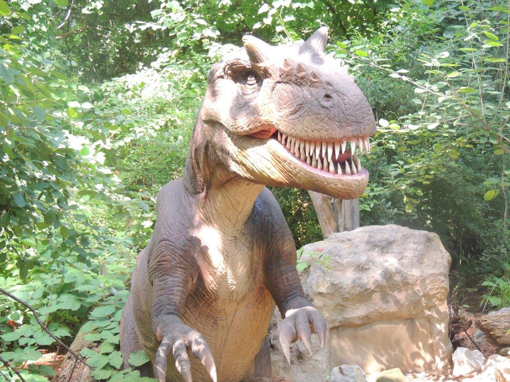 Dinosaur At Dorney Park 8
