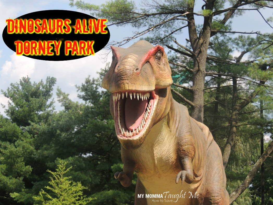 Dinosaurs Live At Dorney Park