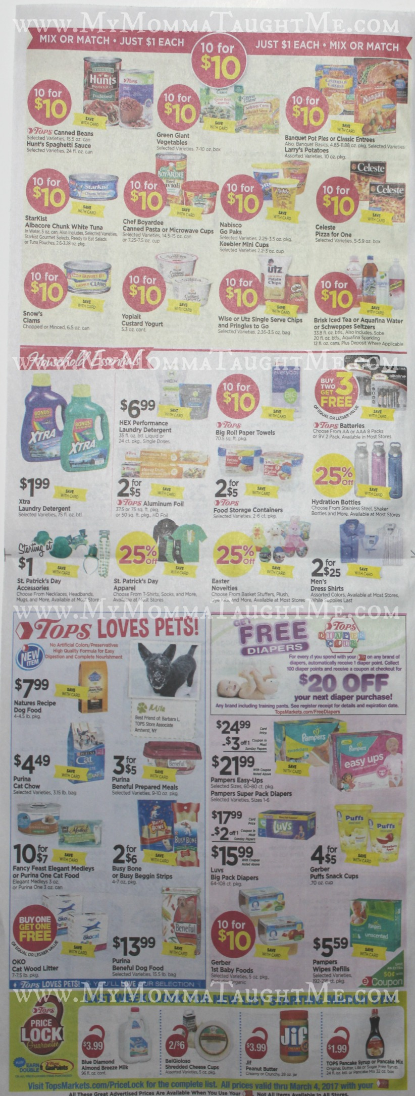 Tops Markets Ad Scan Week Of 2 26 17 To 3 4 17 Page 6