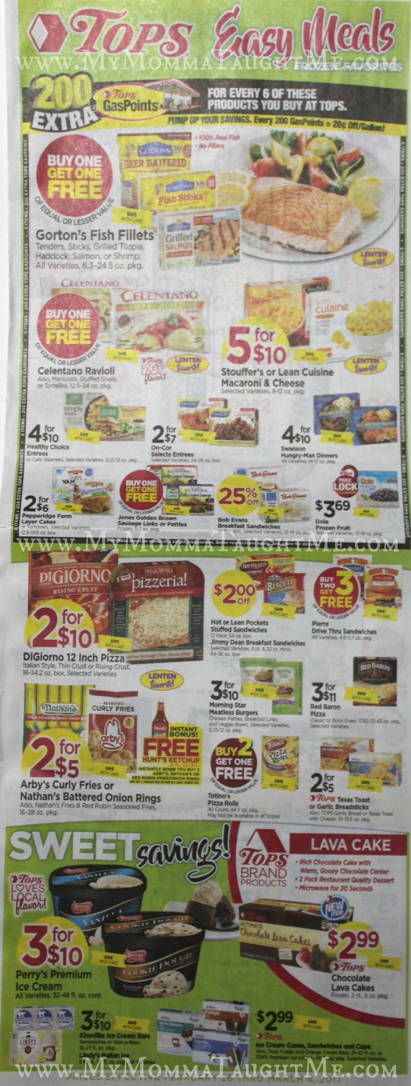 Tops Markets Ad Scan Week Of 2 26 17 To 3 4 17 Page WA