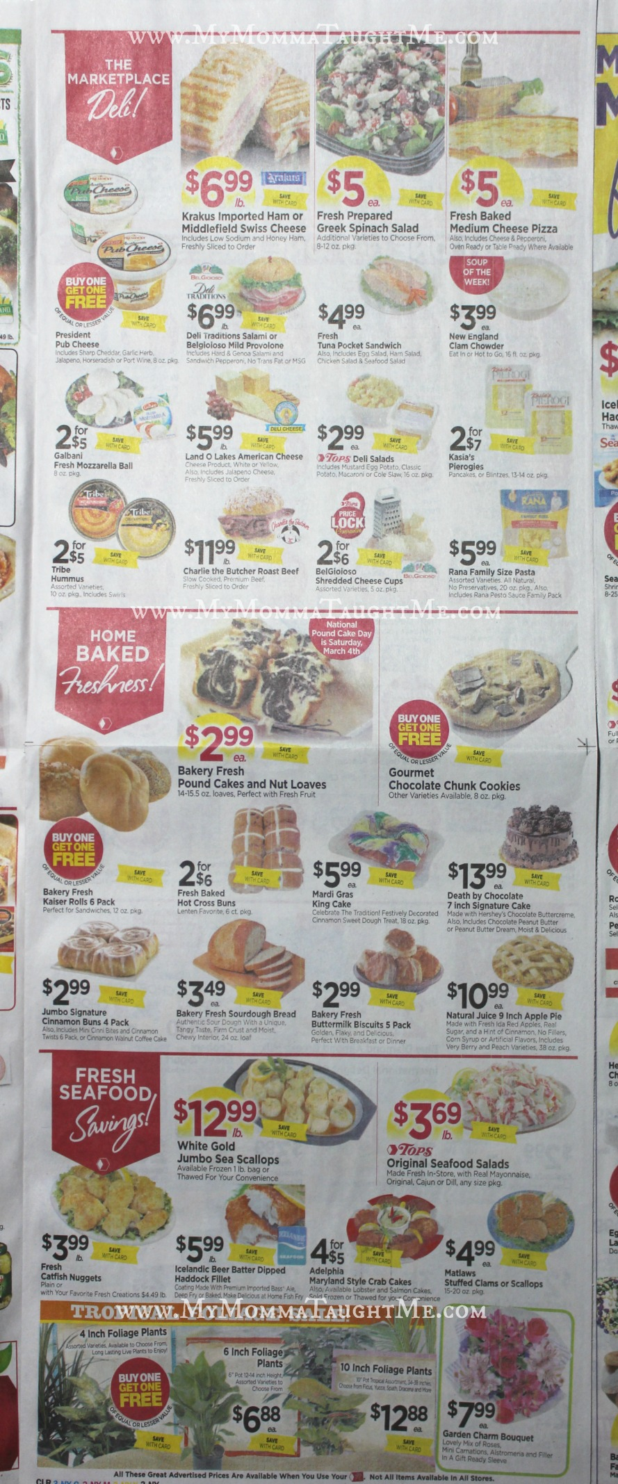 Tops Markets Ad Scan Week Of 22617 3417 Page 3