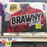Brawny Paper Towels Clearanced At Tops Markets