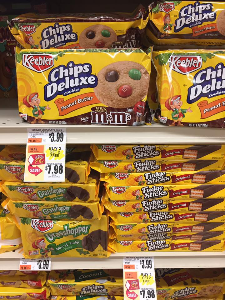 Keebler Cookies Bogo At Tops Markets