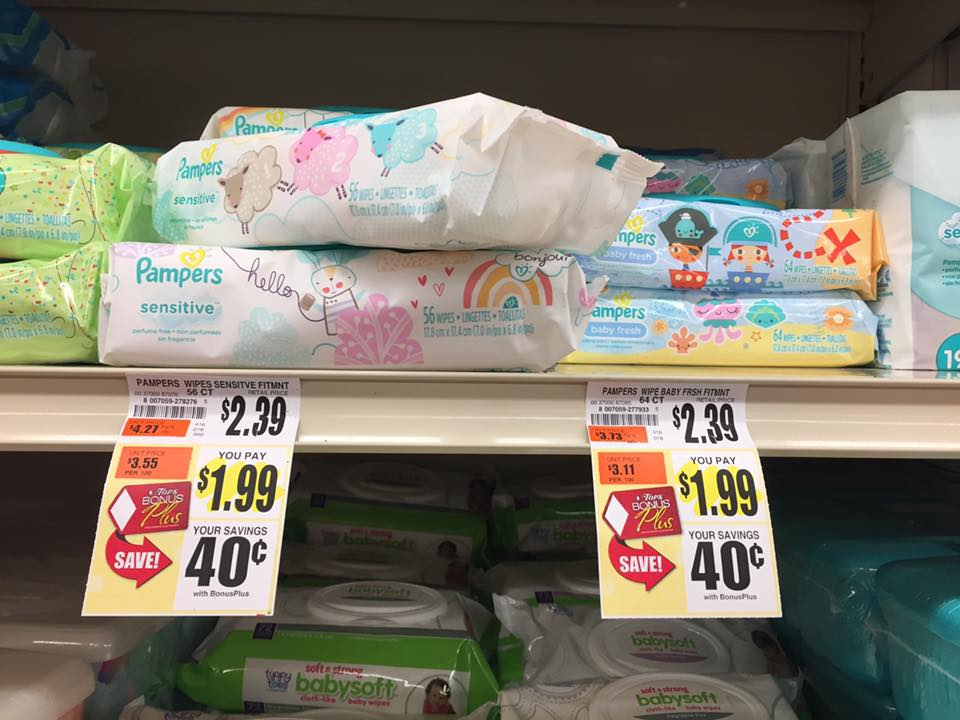 Pampers Baby Wipes At Tosp
